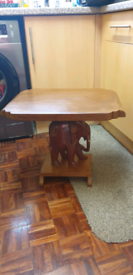 Small elephant table