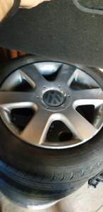 4x VW Rims with Michelin Primacy Tires