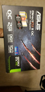 Asus GTX 770 Video Graphics Card