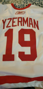 Steve Yzerman Authentic Game Issue Jersey