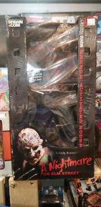 Nightmare Elm Street Freddy Krueger Movie Maniacs 18 McFarlane