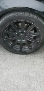 18 inches mags + tires Audi