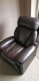 Lazyboy electric rise and recliner armchair