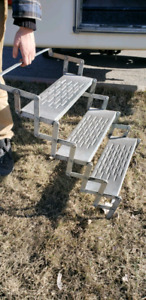 Camper stairs