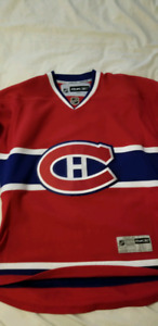 Reebok RBK Montreal Canadiens NHL Jersey size Large Mens