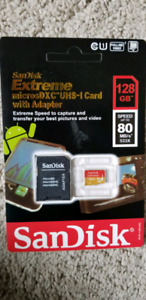 Sandisk Extreme Micro SD card 128 GB