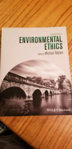 ENVIROMENTAL ETHICS TXT BOOK