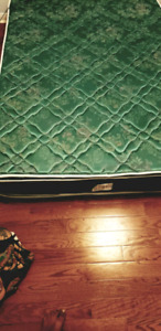 Queen size mattress box and frame clean and bug free