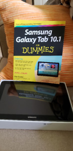SAMSUNG GALAXY 10.1 inbox. Together with book 10.1 for Dummies