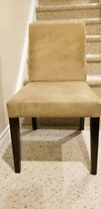 Dining Chairs, microsuede