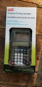 Handheld Printing Calculator - NIB