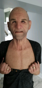 Silicone Mask (real life like) for sale. OLD MAN MASK Costume