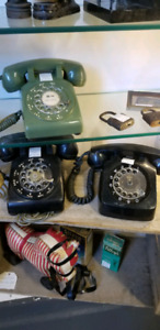 Vintage telephone Rotary Dial