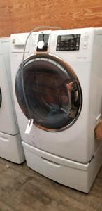 Washer /  dryer on pedestals