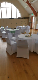 Chair covers to hire for 50p