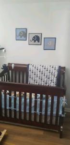 4 in 1 Crib