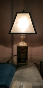 Custom made Alcohol bottle lamp