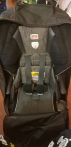 Britax booster car seat with travel bag