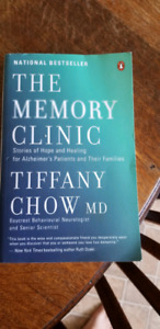 The memory clinic book like new condition!