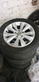 Vw golf mk7.5 genuine alloy wheel