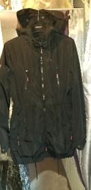 SUPERDRY Black Raincoat Parka Size S 8/10
