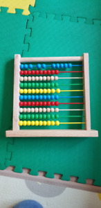 Melissa & Doug Abacus Classic Wooden Toy (Developmental Toy)