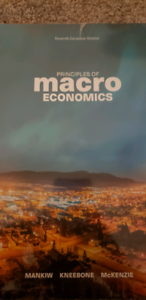 BRAND NEW UNOPENED Macroeconomics textbook for sale with mindtap