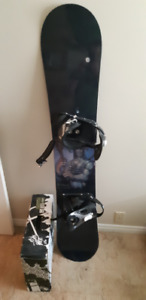 Snowboard, bindings, and boots for sale