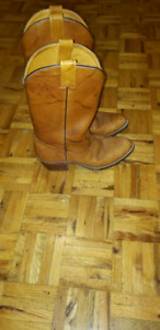 Colt 45 genuine solid leather cowboy boots
