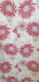 Laura Ashley pencil pleat cotton curtains