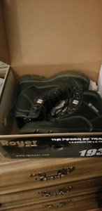 Steel Toed Boots mens size 7