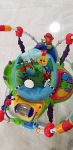Kids jumping jumperoo