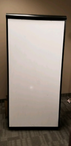 White board on casters