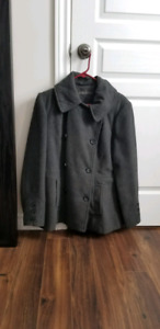 womens medium peacoat
