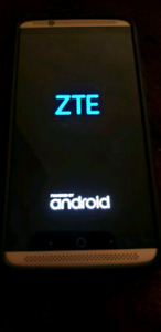 ZTE Axon 7 smartphone. Like new with extras