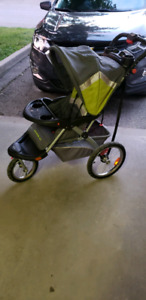 Baby trend jogging stroller excellent condition