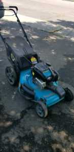 Lawn Mower premium features. Self-propelled motor