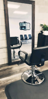 Hair stylist chair for rent