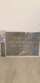 Brand new quote wall sticker