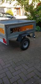 Erde 122 Galvanized trailer
