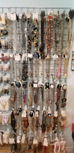 FASHION JEWELRY, NECKLACES, EARINGS, BRACELETS,WHOLESALE PRICES,