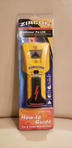 NEW - Stud Finder -  Zircon StudSensor Pro LCD with How-to Guide