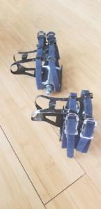 Pédales MKS sylvan pedals + cages and straps