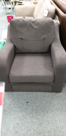 Grey armchair
