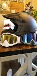509 C2 Carbon Fiber Helmet With Goggles