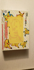 new Nintendo 3DS XL console - Limited Pikachu Edition