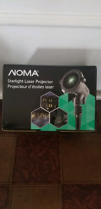 BNIB straight laser projector comes with remote control