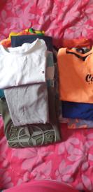 T shirt and vest top bundle,,21 t shirts 12 vest tops