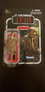(Rare) Star Wars Vintage Collection Han Solo Trench Coat
