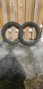 YZ125 and kh100 tires